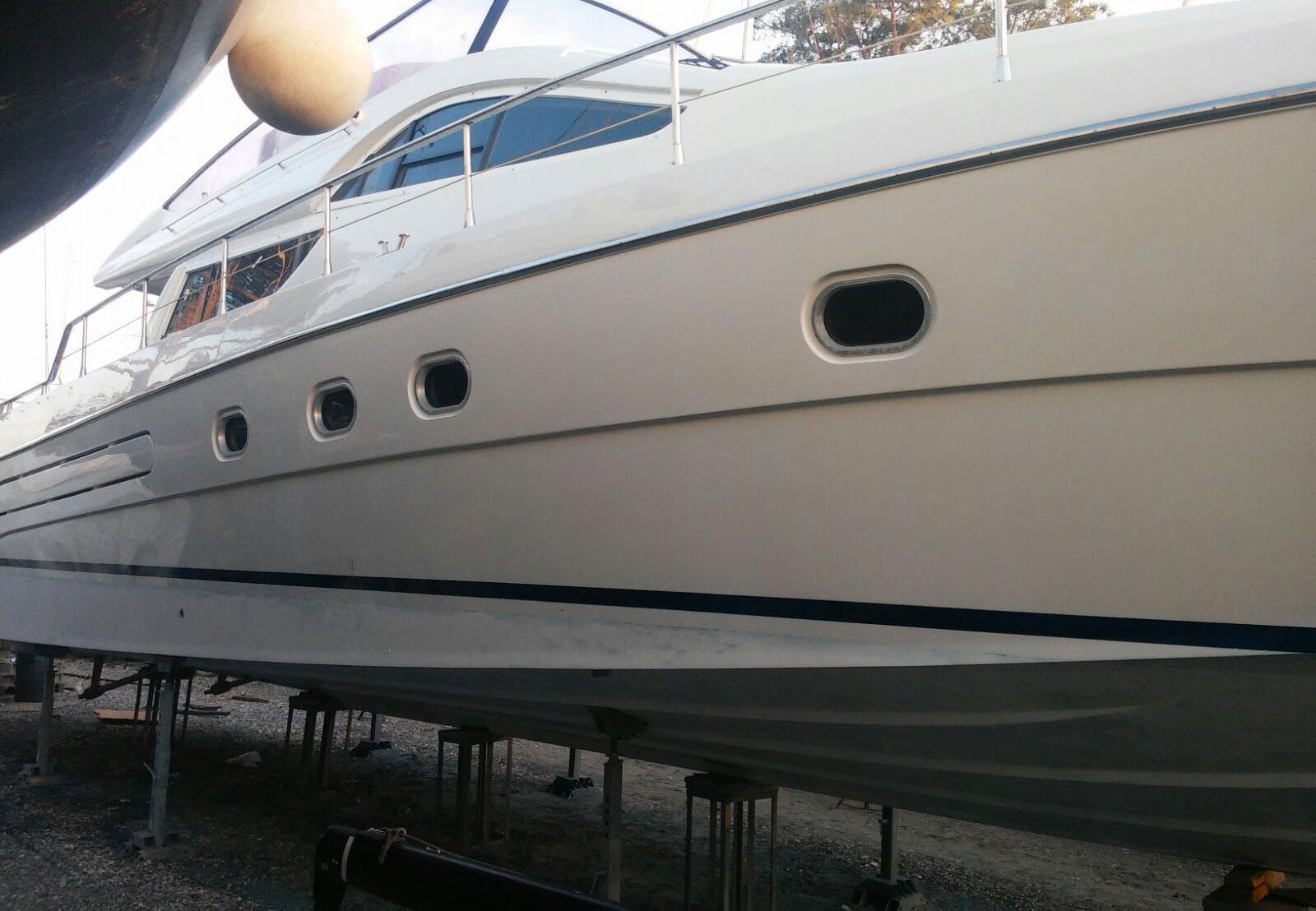 Imbarcazione Dopo la Lucidatura